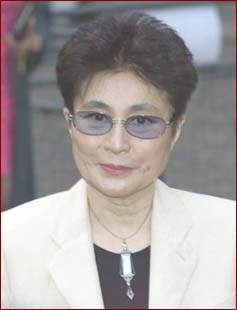 Yoko Ono in the 1990s